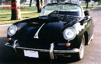 1965 Porsche Convertible, Black