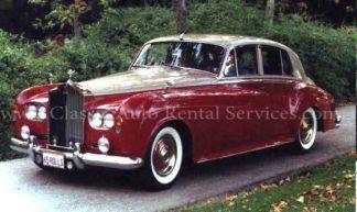 1965 Rolls-Royce Silver Cloud III, 4-door, Burgundy and Platinum