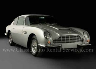 1966 Aston Martin DB6, Silver