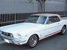 1966 Mustang Convertible, White