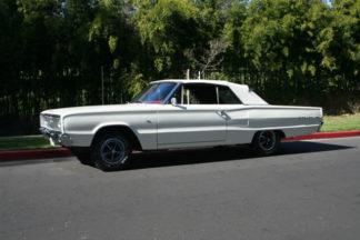 1967 Dodge Coronet Convertible White