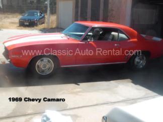 1969 Camaro, 2-door, Red