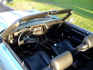 1970 Chevy Chevelle Convertible, Blue