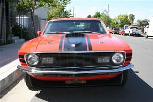 1970 Ford Mustang Fastback, Orange