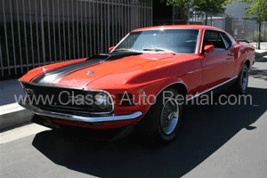 1970 Ford Must1970 Ford Mustang Fastback, Orangeang Fastback, Orange