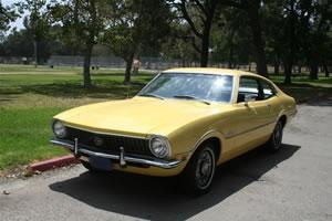 1972 Ford Maverick, Yellow