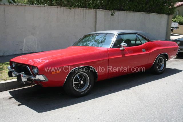 1973 Dodge Challenger, 2-door, Red