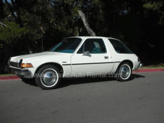 1976 AMC Pacer, White