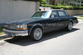 1979 Cadillac Seville, Blue