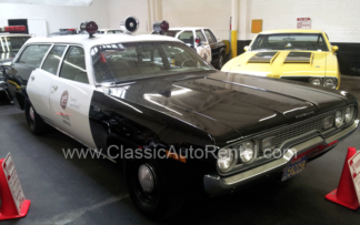1971 LAPD Police Station Wagon