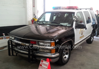 1999 Chevrolet Tahoe Beverly HIlls Police