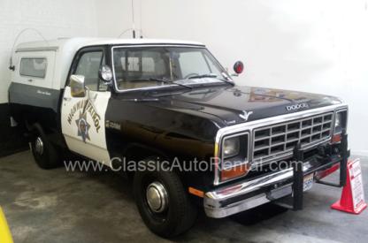 1985 Dodge Ram Custom Pick-up CHP