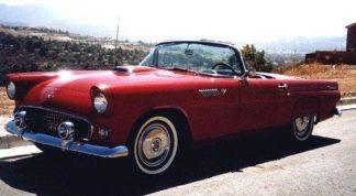 1955 Thunderbird Red