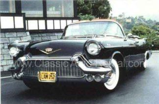 1957 Cadillac Eldorado Convertible, Black