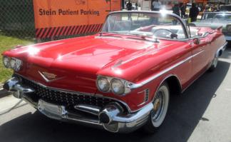 1958 Cadillac ElDorado Convertible, Red