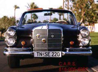1968 Mercedes 300SE Cabriolet, Black