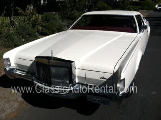 1972 Lincoln Continental MK IV, White