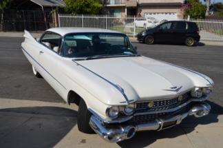 1959 Cadillac Coupe DeVille, White
