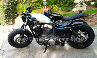 2011 Harley Sportster, Silver and Black