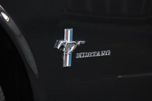 1965 Ford Mustang Black Convertible