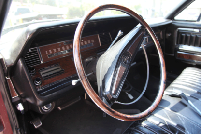 1968 Lincoln Continental Limousine, Royal Burgundy