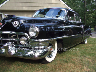 1950 Cadillac Coupe, Series 62 Black