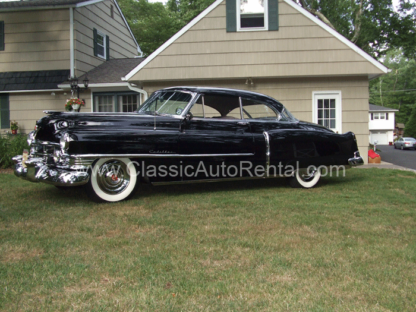 1950 Cadillac coupe, Series 62, Black