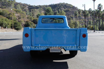 1952 Ford F10 Truck Blue