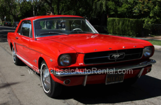 1965 Mustang Convertible Red Stock or Custom Available