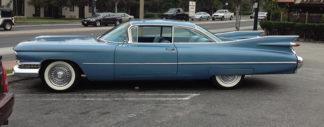 1959 Cadillac Coupe DeVille, Blue