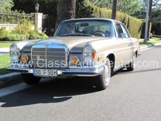 1971 Mercedes Benz Coupe, 280SE 3.5