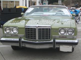 1974 Pontiac Grandville Convertible, Limefire Green