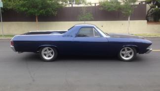 1968 El Camino, Patriot Blue